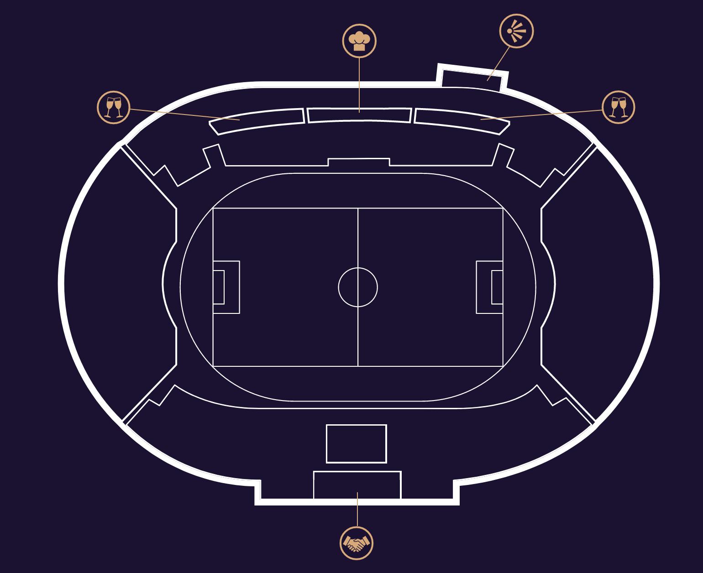 Plan du stadium